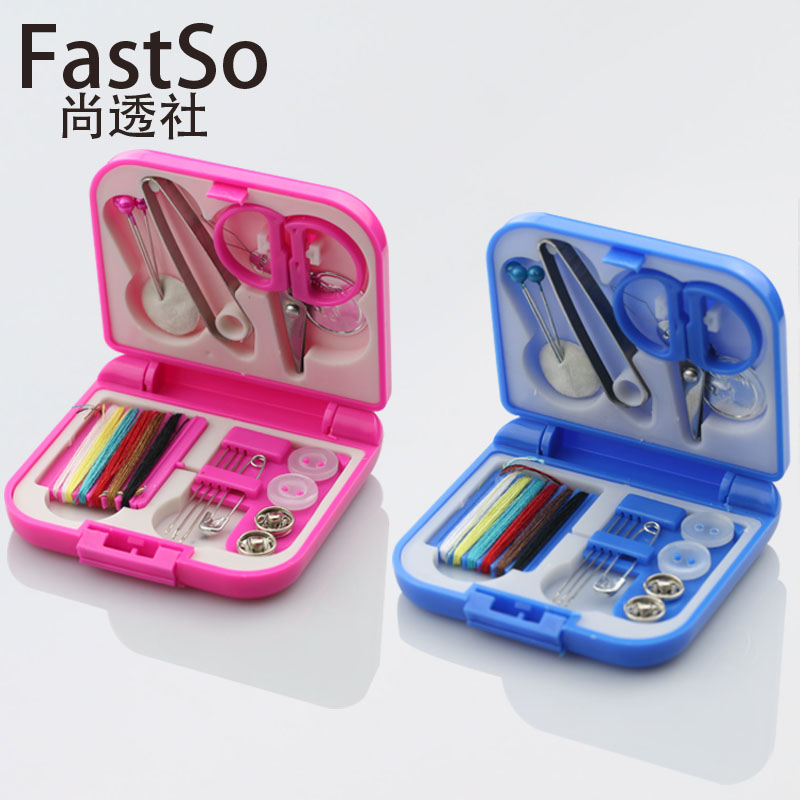 6 color cotton multifunction sewing needle threader mini home portable sewing kit sewing box sewing diy essential
