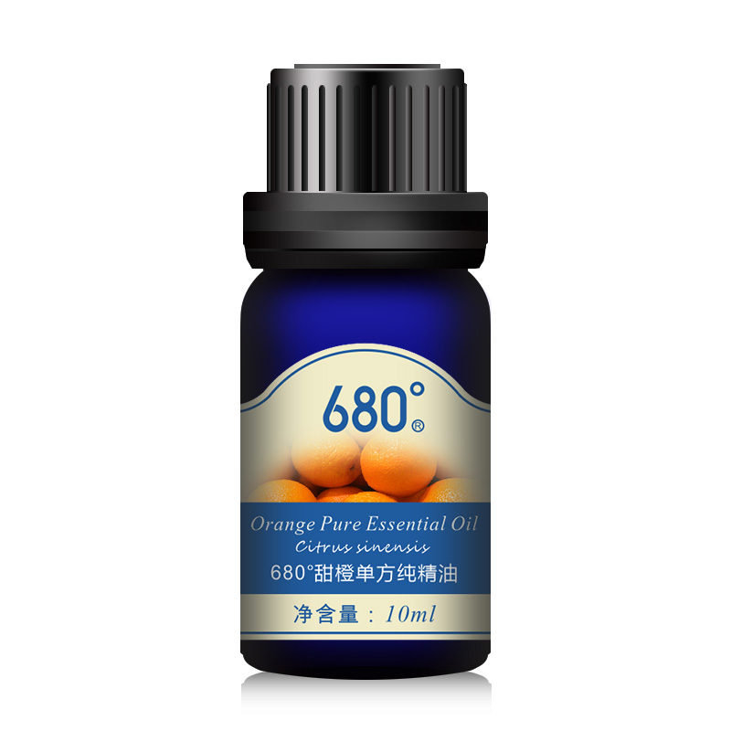 680 degrees unilateral pure essential oils of sweet orange essential oils 10 ml aromatherapy essential oils aromatherapy massage official direct sale free shipping