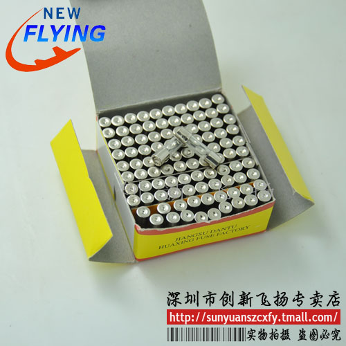 6a 250 v 5*20mm glass fuse fuse fuse 100/box sunyuan level The acting