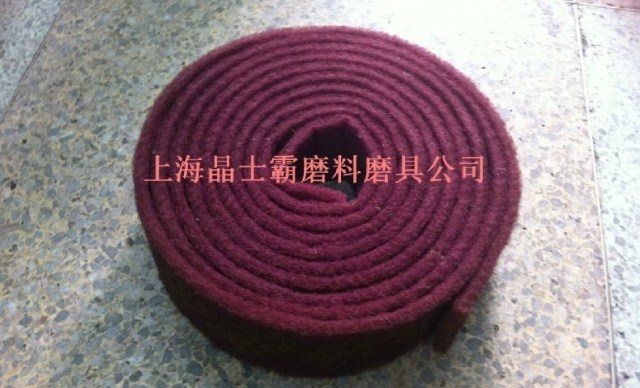 7447 m industrial scouring pad scouring pad genuine original red cloth brushed red scouring pad