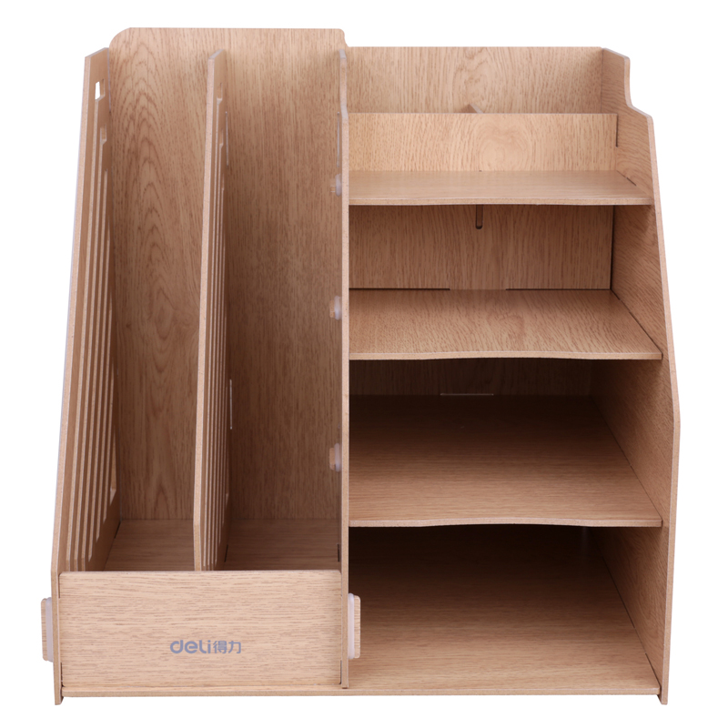 9842 effective combination of versatility wooden file box office desktop storage box finishing box file frame data frame