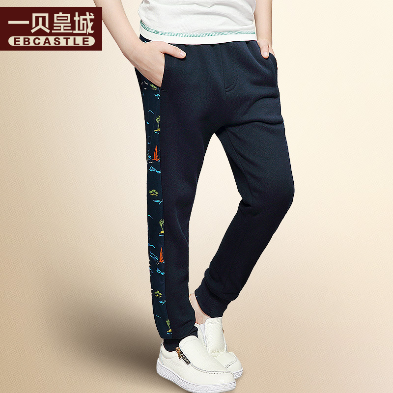 A bay imperial kids boys sports pants pants big virgin autumn trousers casual pants spring and autumn paragraph kids children