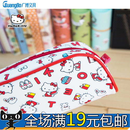 A broad range of KT85001 kitty cat series of cute cartoon pencil student stationery pencil bag large capacity