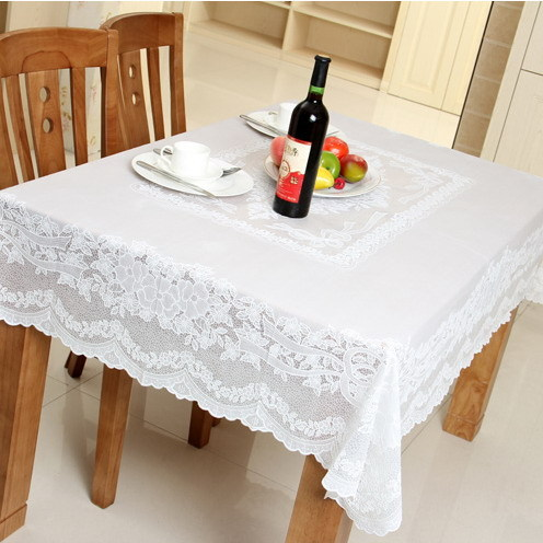 Get Quotations · A Lot Of Home Coffee Table Cloth Tablecloth Pvc Pastoral  Simplicity Of Pure White Plastic Table