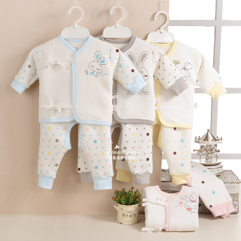 A810 baby in autumn and winter models within cotton underwear newborn baby underwear baby underwear open crotch leotard