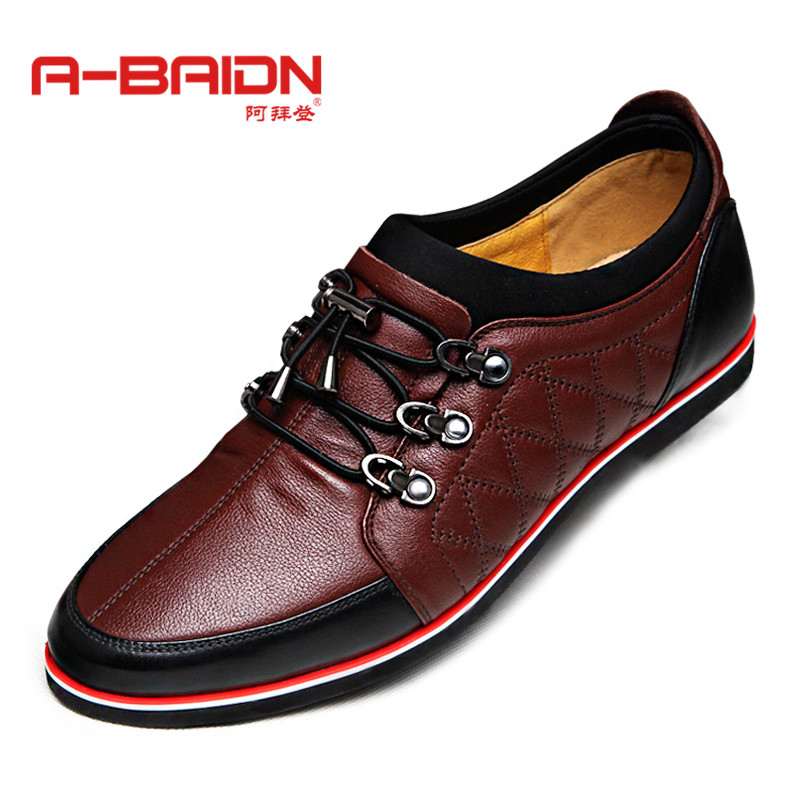 Abaidn/o biden autumn baroque lace business casual shoes leather shoes breathable men's shoes tide shoes 913