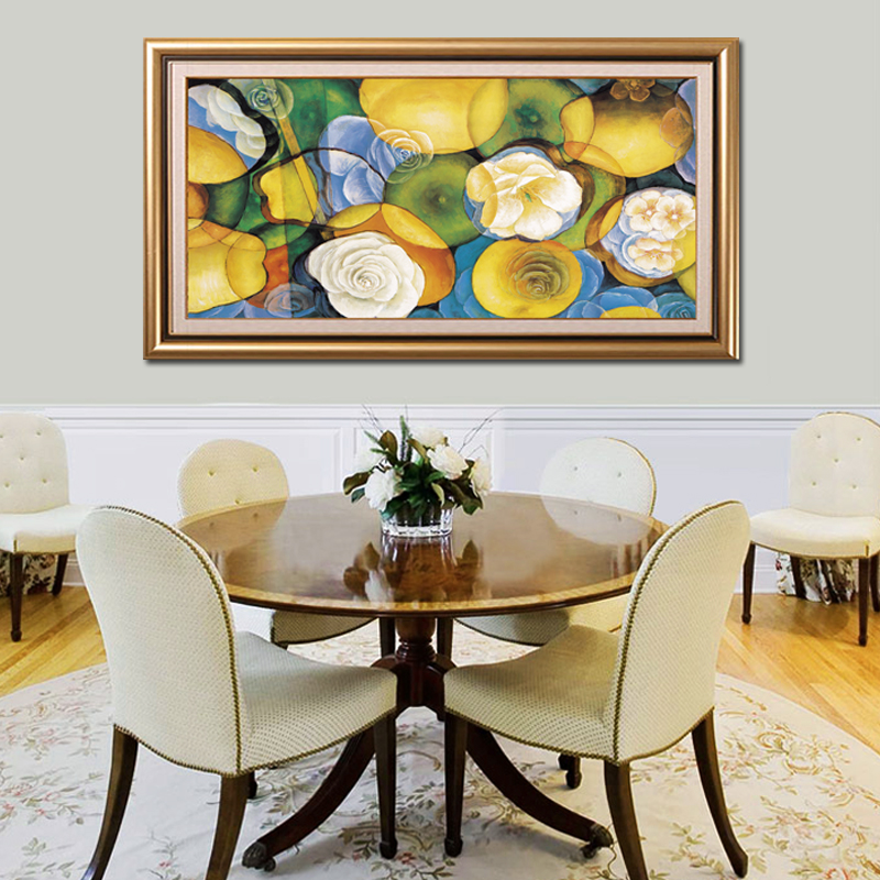 Abstract painting decorative painting the living room restaurant decorative painting the living room entrance study