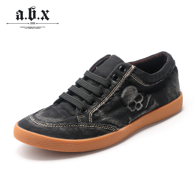 e3931bef2017c9 Get Quotations · Abx korean version of the fall and winter shoes breathable  shoes tide shoes elastic band men s