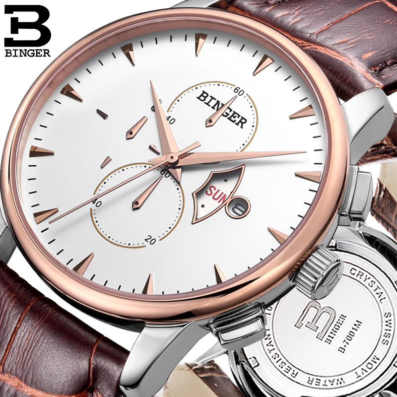 Accusative watch sally sally six needle between gold watch authentic waterproof leather belt thin white quartz watch three six needle