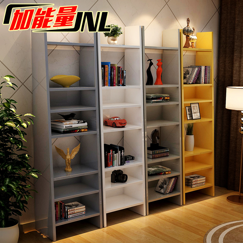 Add energy and creative bookcase shelf bookcase simple clapboard shelf bookcase free combination storage rack