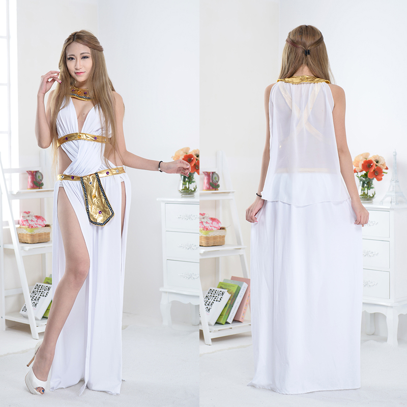 9c9c62e2d89 Get Quotations · Adult halloween costume cosplay costume egyptian pharaoh  cleopatra arab women in the middle east robe dress