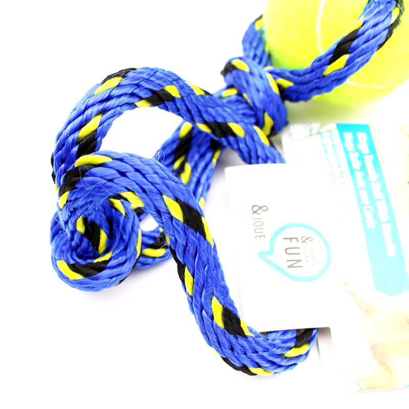 Afp pet dog toys tennis rope even common in dogs dog training interactive dog toys dog toys