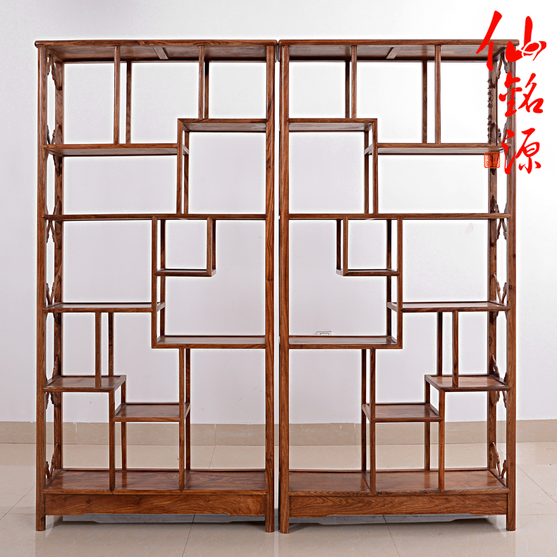African rosewood mahogany furniture rosewood simple shelf treasure house gretl chinese antique wood antique frame