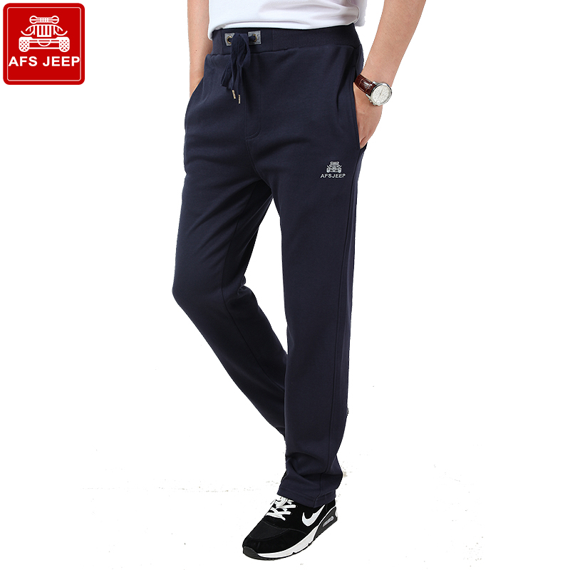 Afs jeep battlefield jeep summer thin section sports pants male sports pants thin section men casual pants wei pants male trousers