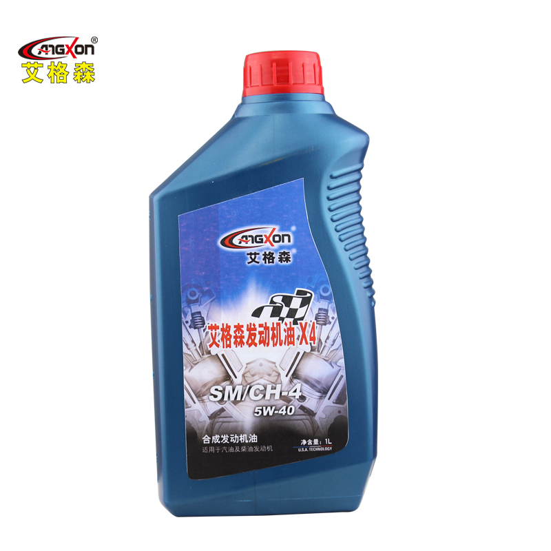 Ai gesen angxon synthetic car engine oil sm/ch-4 5w-40 synthetic motor oil 1l