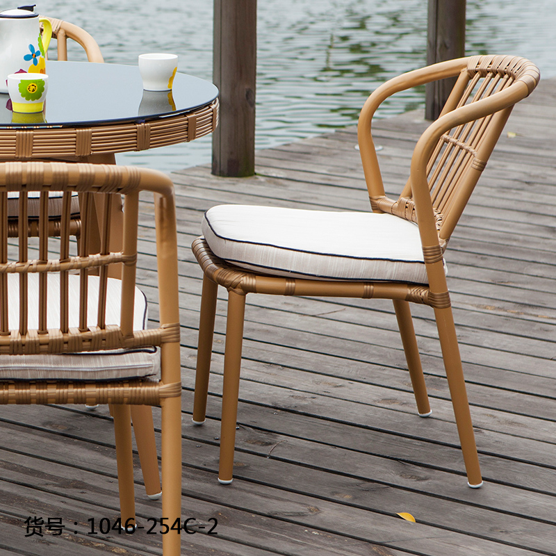 Ai home modern american outdoor furniture outdoor chairs 1046-254C-2