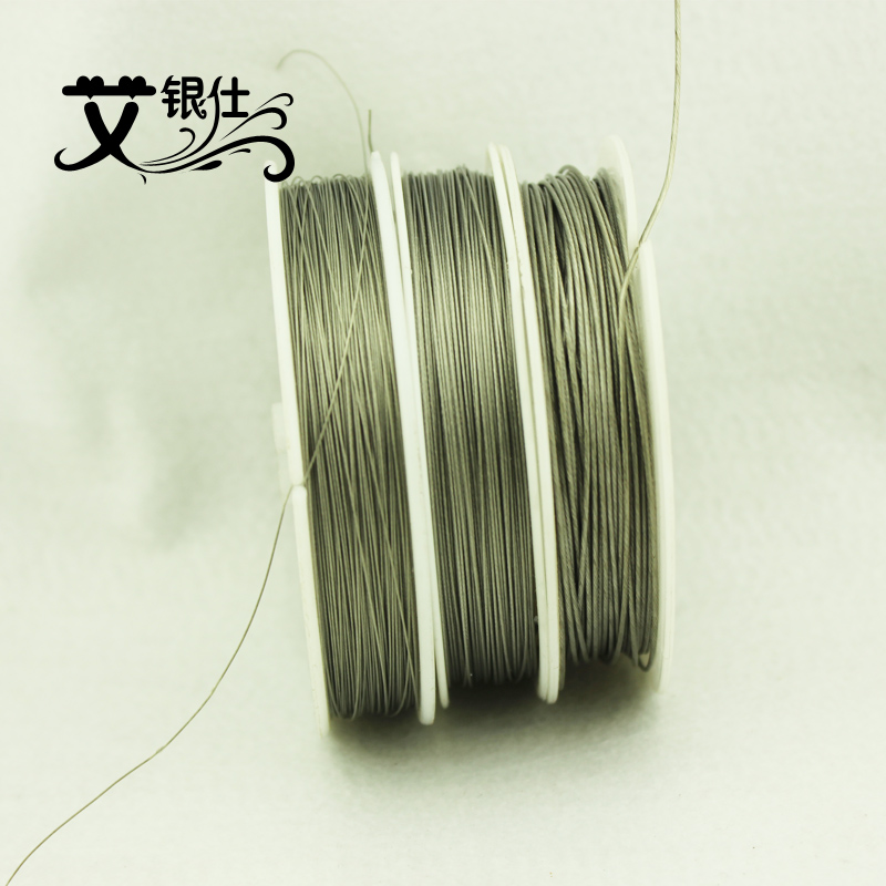 Ai yinshi soft steel wire jewelry line diy handmade beaded wire accessories wire line packet heart wire bead wire