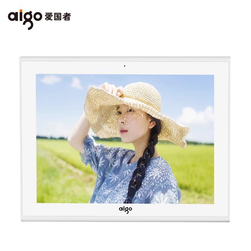 Aigo/patriot cloud intelligent 10g electronic album digital photo frame digital photo frame lithium touchscreen micro letter transfer photos