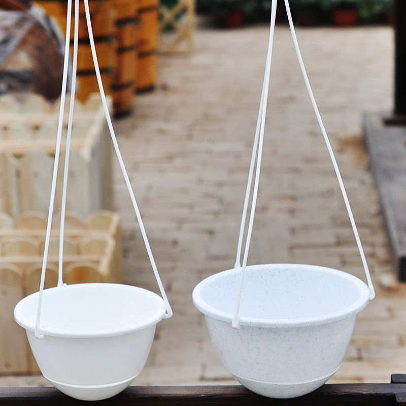 Alice genuine resin pots chlorophytum diaopen plastic pots hook jane about hanging pots with leakproof network