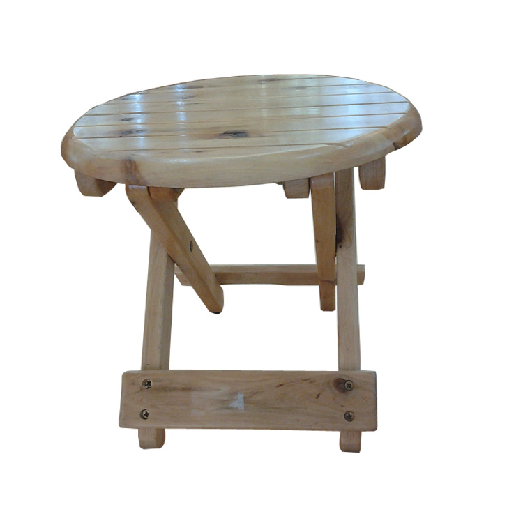 All solid wood surface cypress simple outdoor portable folding stool fishing stool mazar wood folding stool stool stool