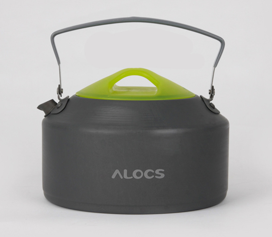Alocs love the way customers outside picnic camping kettle outdoor kettle boiling tea kettle to boil 0.9l cw-k09