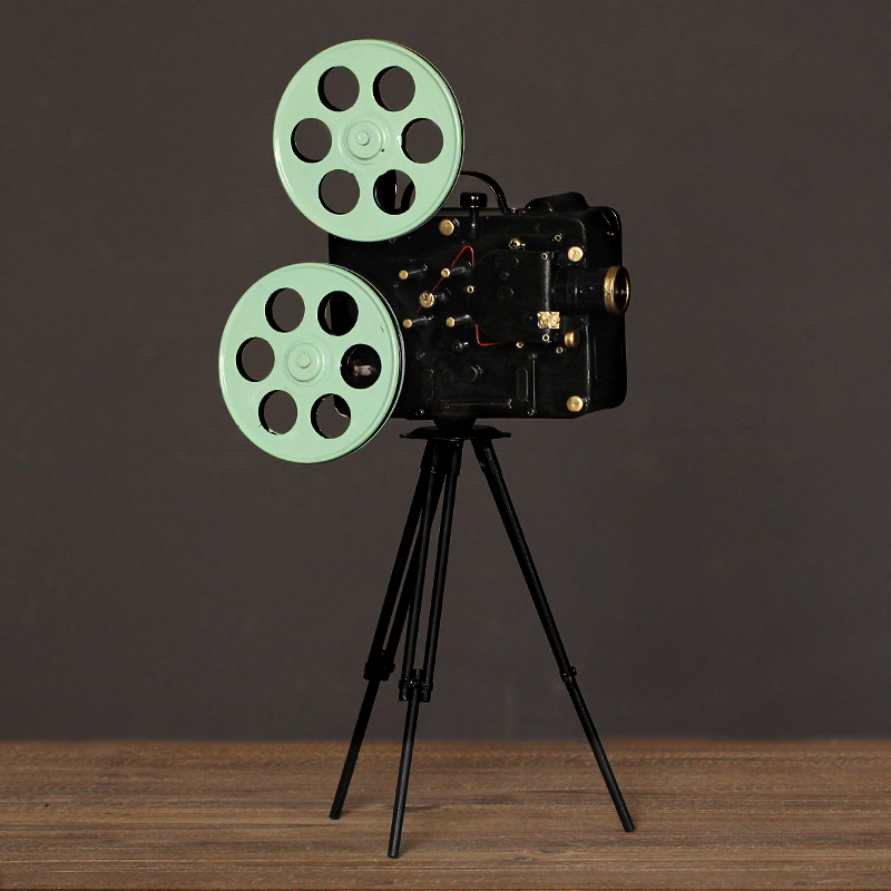 American iron retro projector model ornament ornaments cafe bar tv cabinet ornaments home accessories