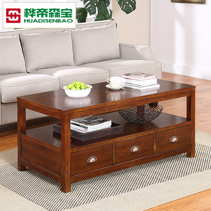 American minimalist living room coffee table small coffee table coffee table coffee table american country furniture wood coffee table small apartment