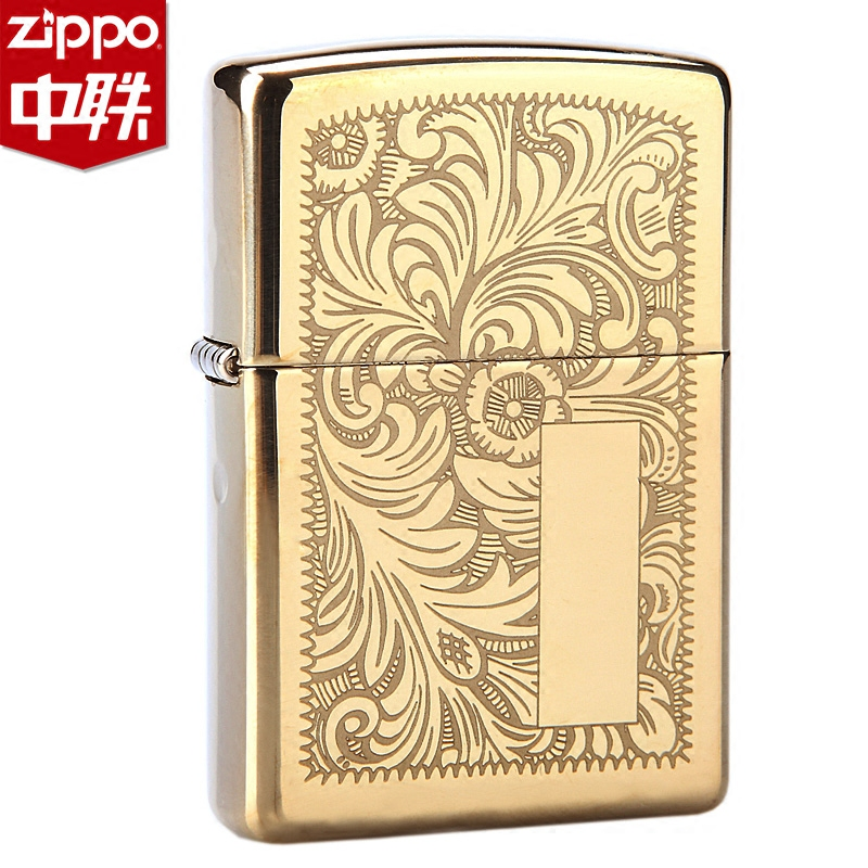 ... American Original Authentic Zippo Lighters Genuine Venetian 352b Copper  Lettering Authorized Stores