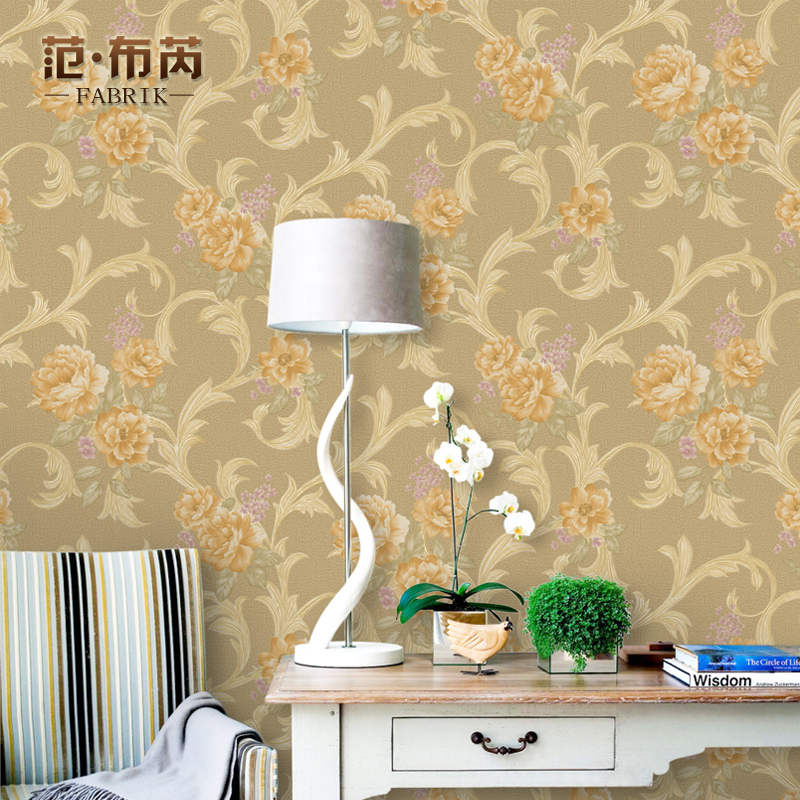 Get Quotations American pastoral wallpaper pvc