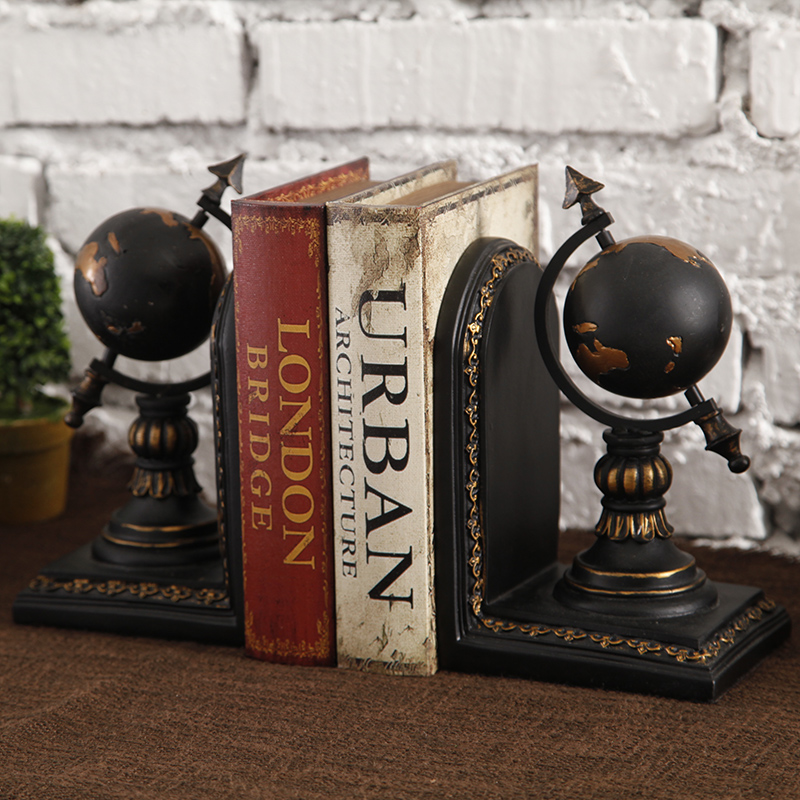 American retro tellurion books indoor office desk ornament ornaments model room furnishings creative decorations
