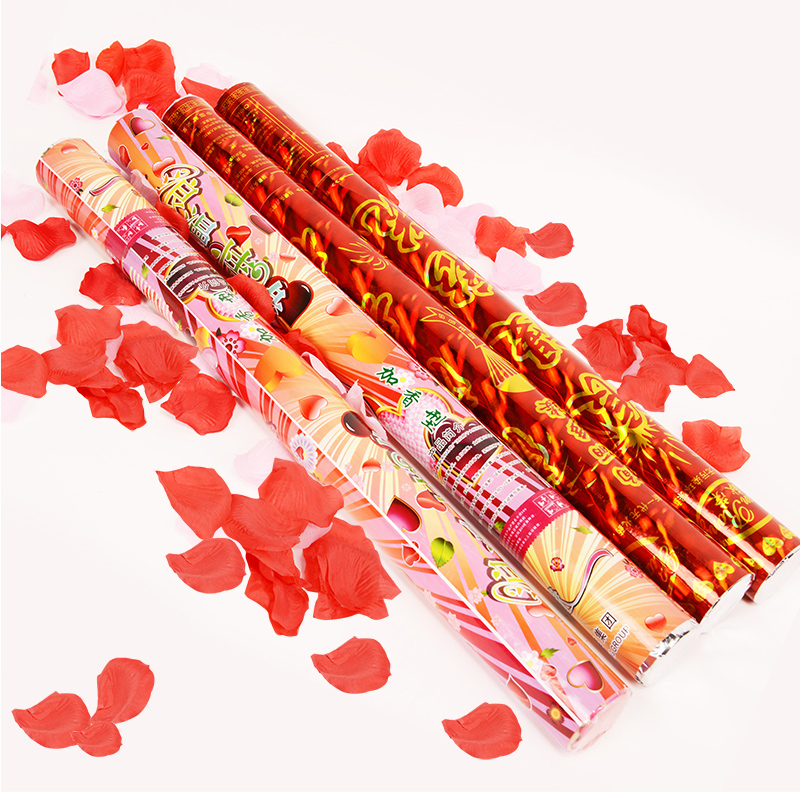 Amidst the collection of wedding fireworks celebration fireworks tube wedding confetti party salute christmas and new year supplies