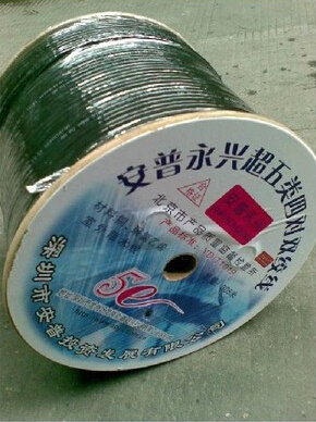 Amp yongxing outdoor super category 5 utp cable unshielded twisted pair cable water blocking cable