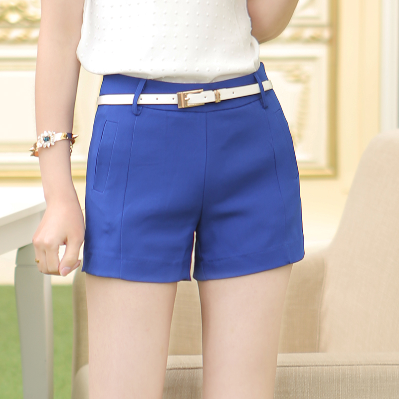 An ocean tide shipping 2014 summer candy color wild slim was thin shorts female korean fashion shorts clearance