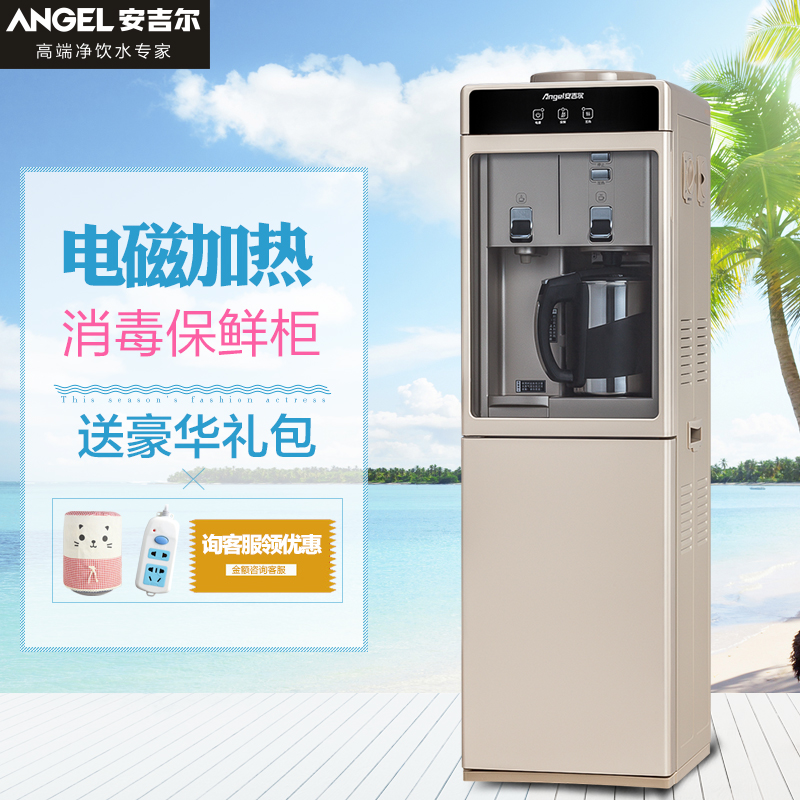 Angel drinking fountains vertical home warm drinking y2487 tankless speed hot boiling bile shipping