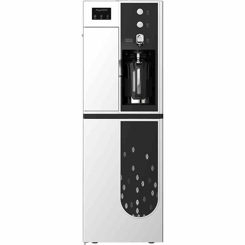 Angel external heating domestic hot and cold water dispenser vertical double door water machine gutless speed hot water dispenser genuine