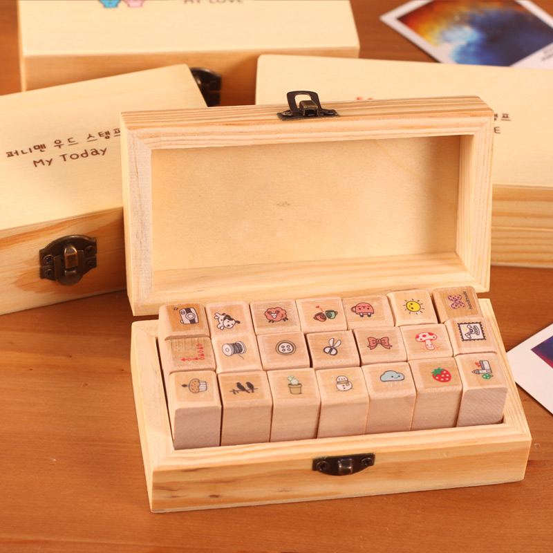 Angel zimu stationery cute cartoon boxed cute seal stamp seal teachers seal stamp student