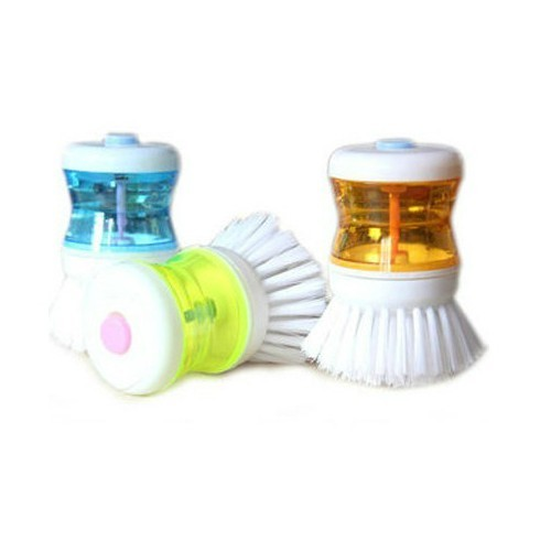 Animal husbandry and clean multifunction pressure liquid dishwashing brush cleaning brush brush scrubbing pots plus liquid household cleaning brush brush brush kitchen