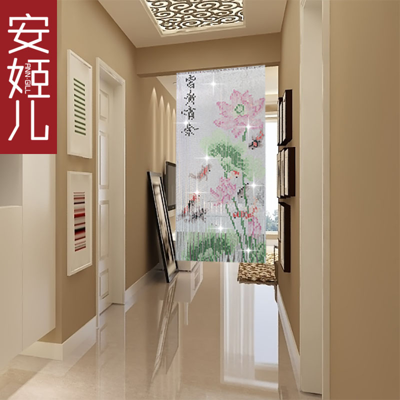 Ann ji children pattern crystal bead curtain crystal bead curtain curtain off the new living room door room curtain curtain off the ground