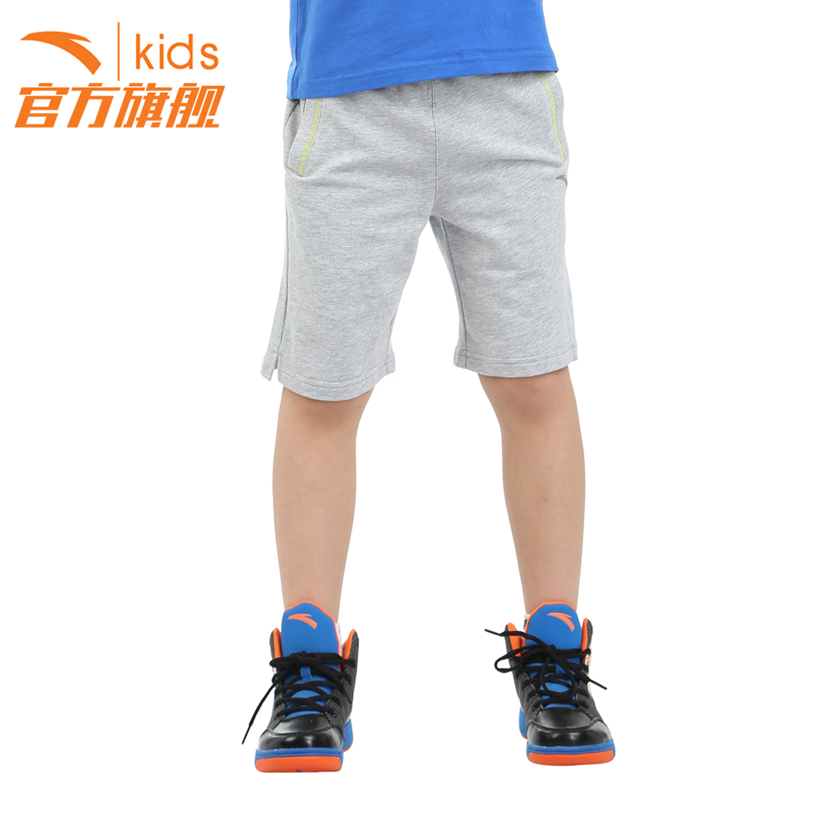 Anta kids boy pants boy pants summer 2016 summer new big virgin boy sports pants short pants summer