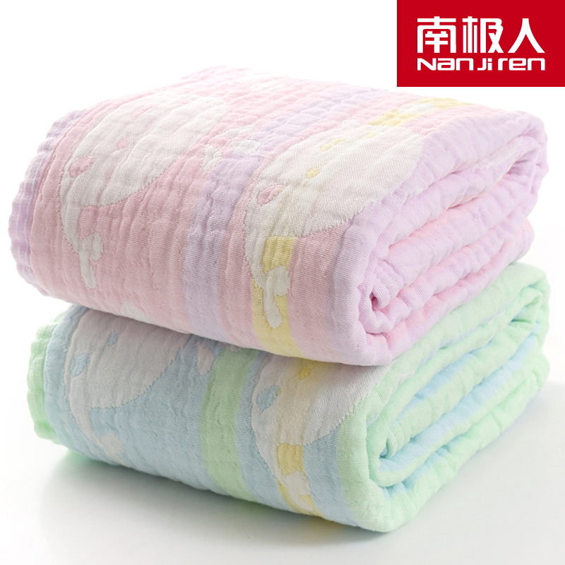 Antarctic cotton baby towel cotton baby three layers of gauze blankets for children covered by category a towel