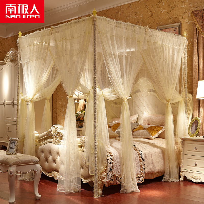 Antarctic double landing nets 1.5/1.8/2.0 * m twin princess bed mantle stainless steel household