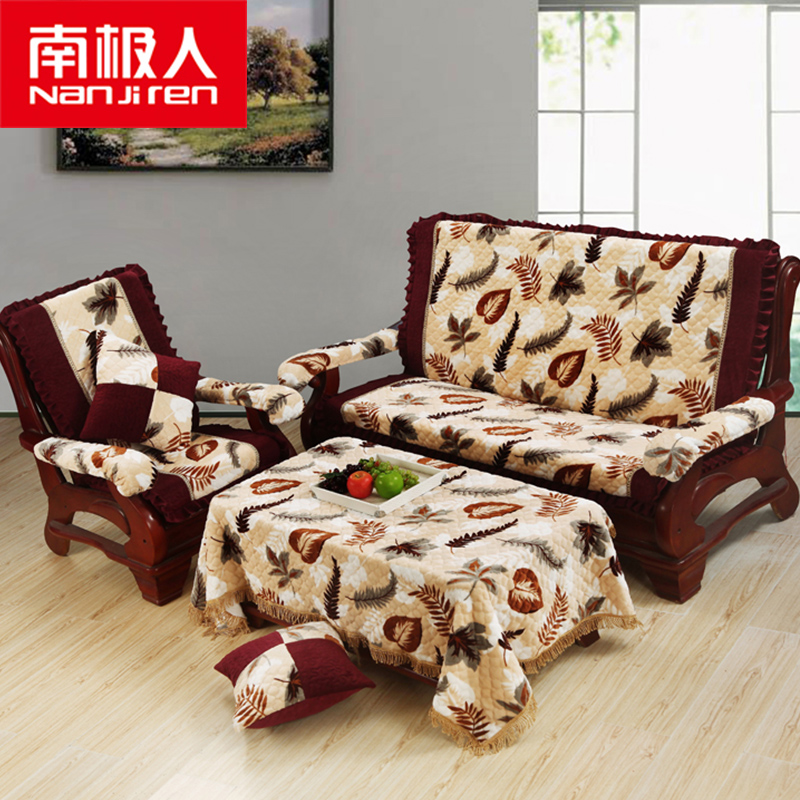 Get Quotations Antarctic Thick Red Wood Sofa Cushion Sponge With Backrest Linking Bang Upholstery