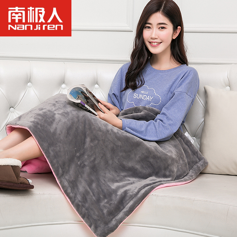 Antarctic warm blanket knee blanket multifunction electric heating pad heating blanket knee blanket multifunction electric heating washable