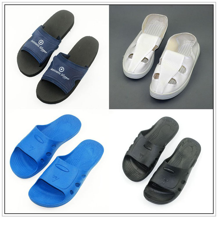 Antistatic slippers slippers static four shoes quadripuntal antistatic protective shoes anti shoes antistatic work shoes clean shoes