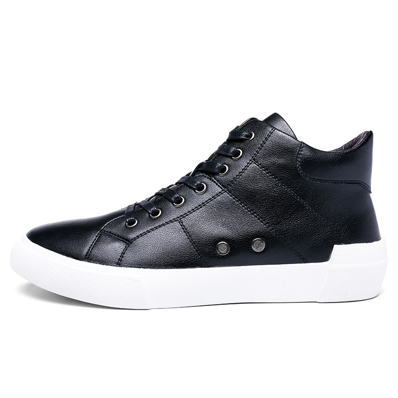 Ao gushi shield 2016 new winter influx of men shoes to help men's high to help casual shoes casual shoes british lun