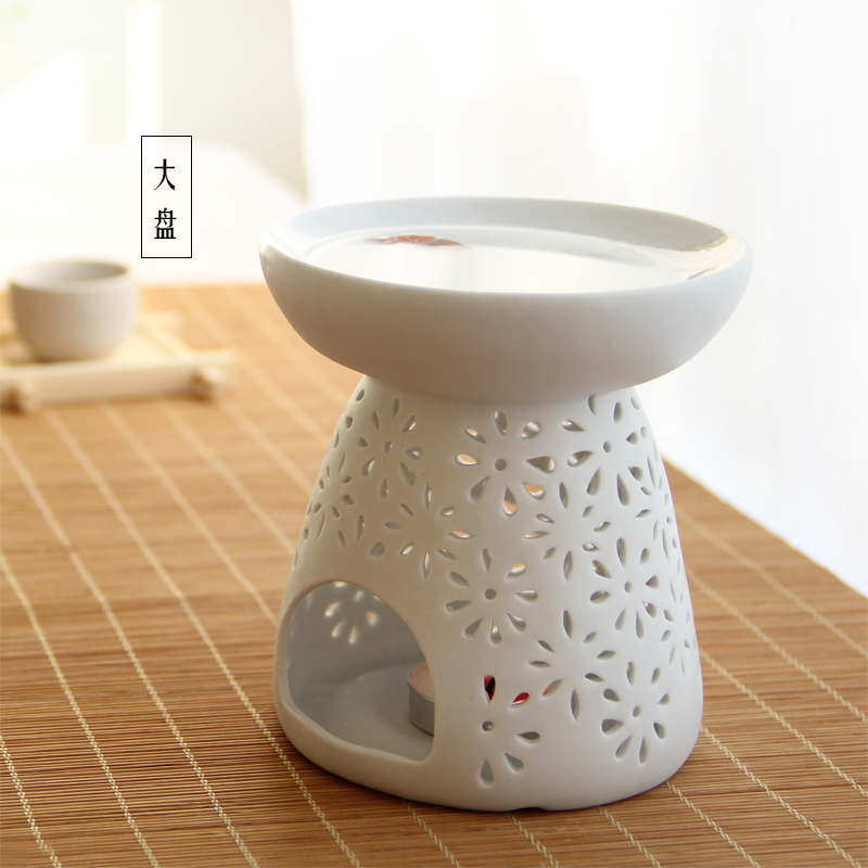 Ao sai aromatherapy fragrance lamp creative modern minimalist interior ceramic vaporizer oil lamp oil furnace oil candles Censer
