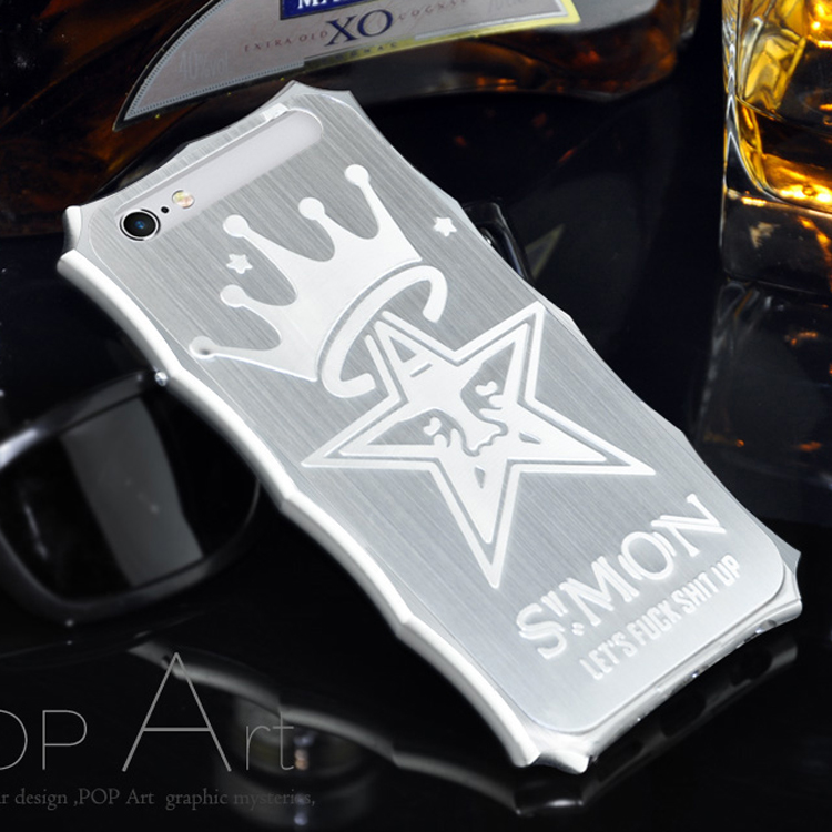 Apple 6 plus phone shell metal frame 5.5 phone shell metal shell iphone6s protective shell crown new
