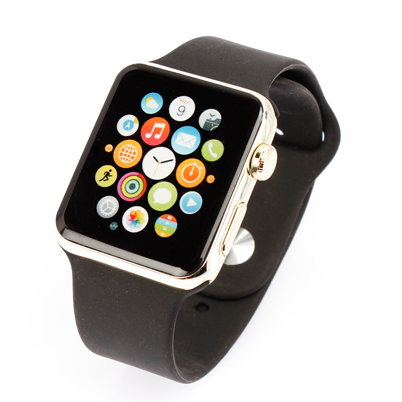 Apple's secret deere apple display counter watch iwatch watch 42mm plastic simulation model machine