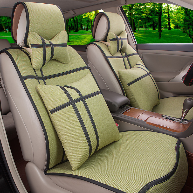 Applicable regal volkswagen bora lavida camry car seat cushions surround the whole new summer car seat cushion