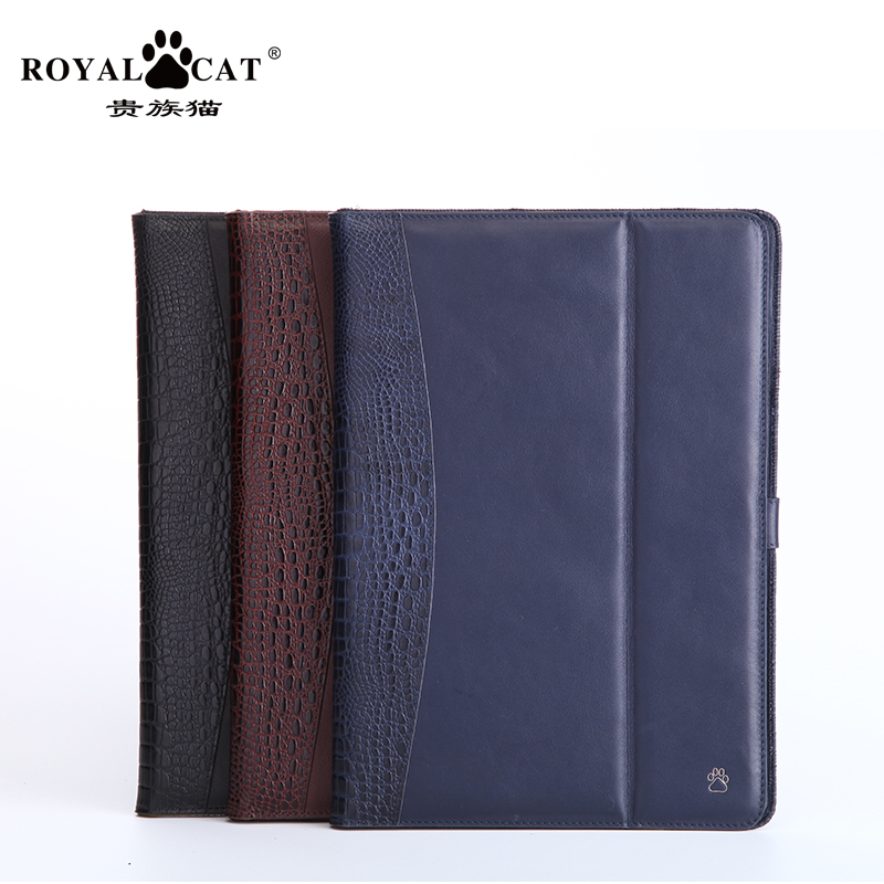 Aristocratic cat ipad air2 dormant leather protective sleeve ipad air protective shell holster whole package drop resistance